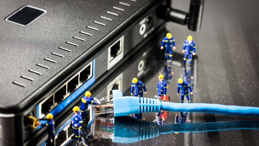 Подключение wi-fi роутера для майнинга