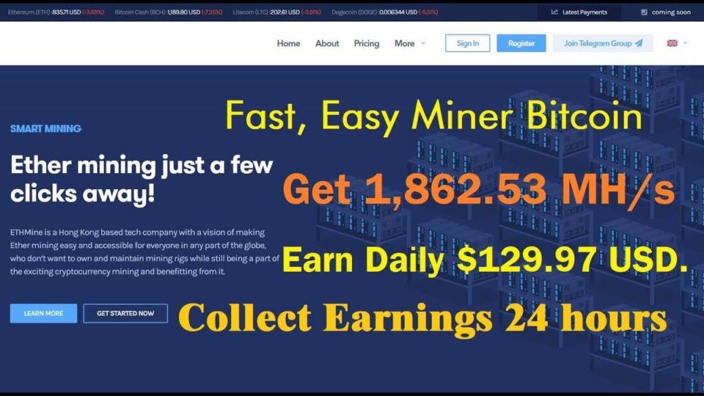 Программа EasyMiner