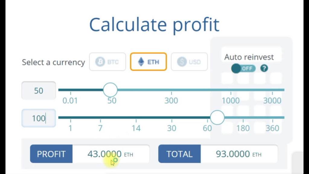 Калькулятор доходности добычи Ethereum