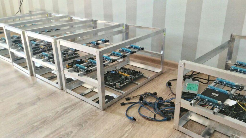 Готовый корпус для криптофермы