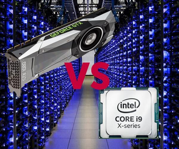 Что лучше, майнинг на CPU или на видеокартах
