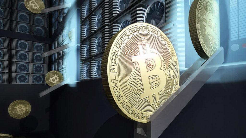 Добыча криптовалюты биткоин