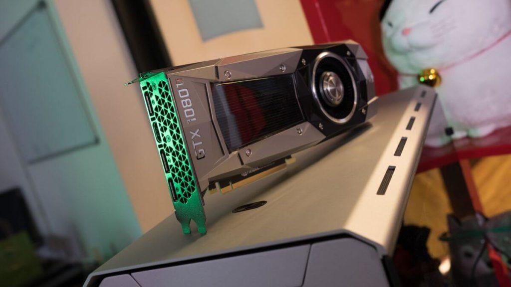 Видеокарта NVIDIA поколения GTX 1080 Ti