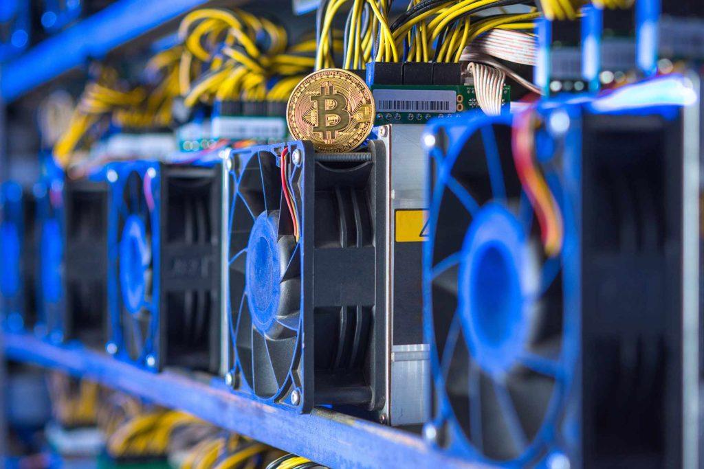 показатели добычи Bitcoin