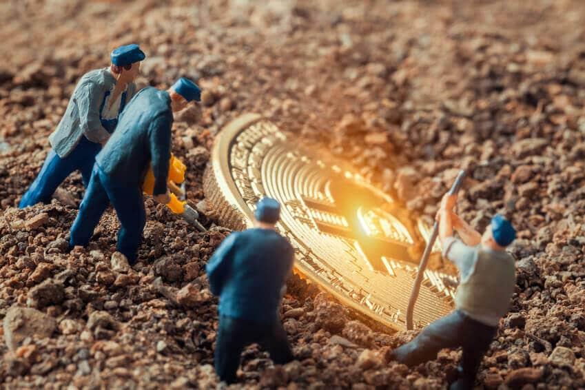 Снижение майнеров по добыче криптовалют