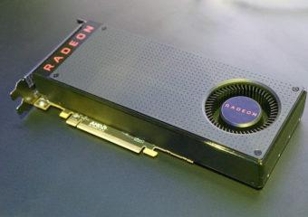Видеокарта RX 480