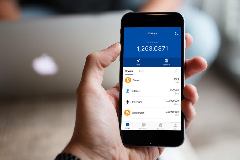 Мобильный биткоин-кошелек для смартфонов