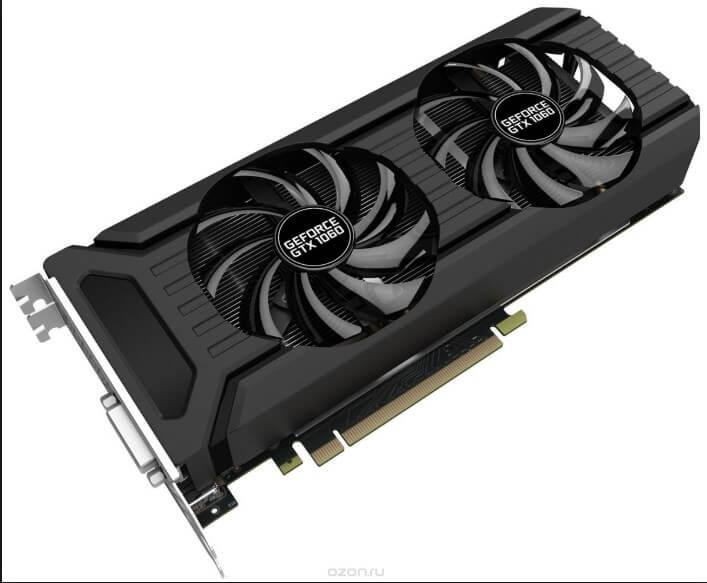 Майнинг на видеокарте Palit от NVIDIA GeForce серии GTX 1060