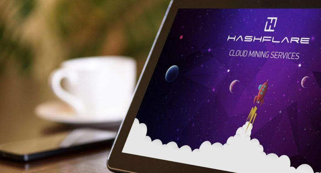 Майнинг на Hashflare