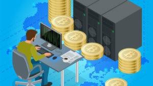 Как добывают криптомонеты с помощью майнинга