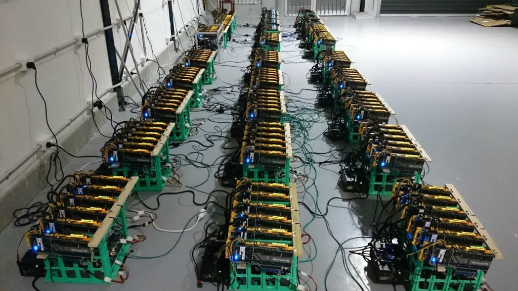 Организация собственного сервера для майнинга