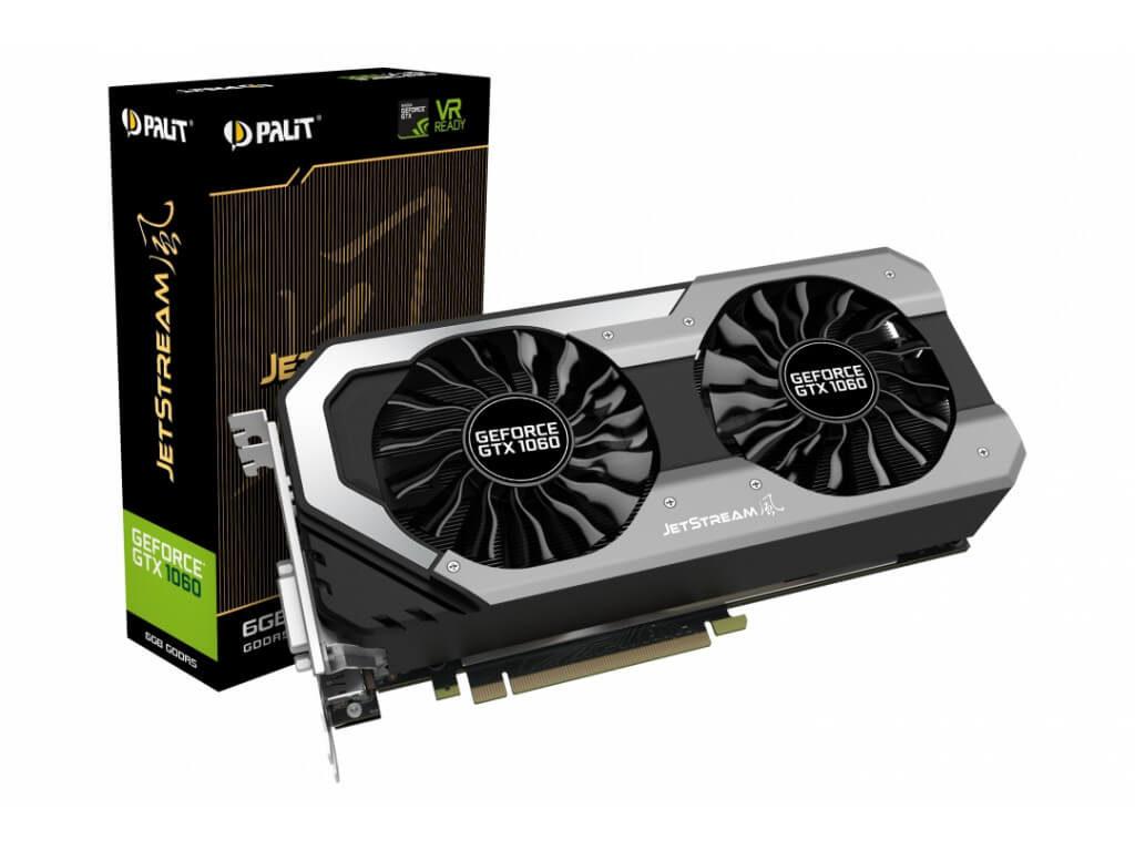 Видеокарта GPU Palit GTX 1060