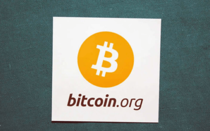 Логотип сайта bitcoin.org