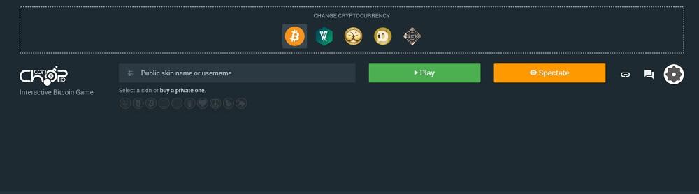Сайт Chopcoin.io