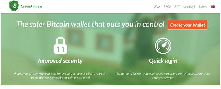 Биткоин-кошелек GreenAddress