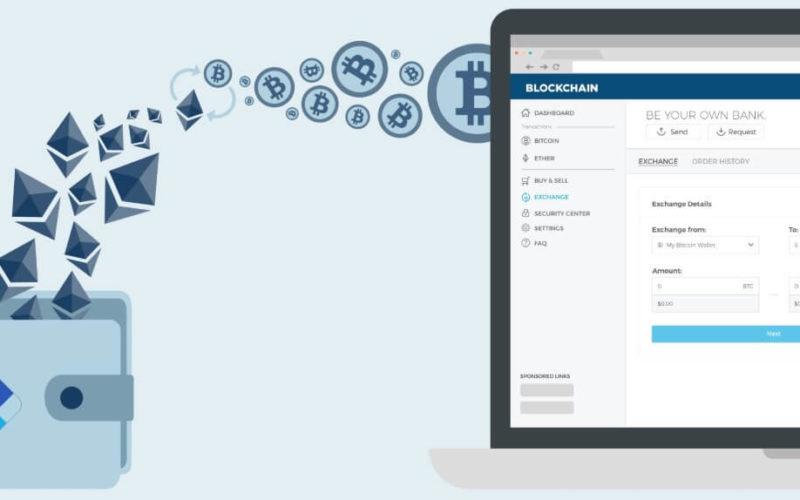 Работа с кошельком Blockchain