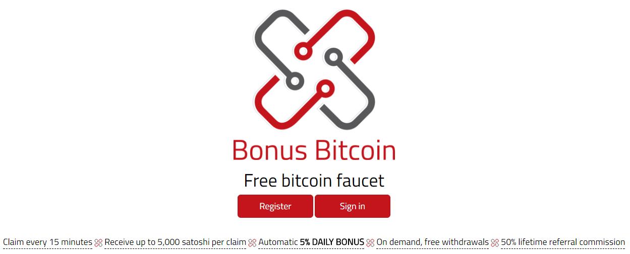 Сервис Bonus Bitcoin