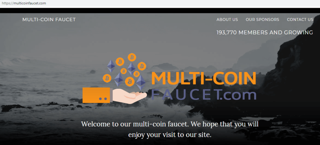 Кран Multicoin Faucet (free)