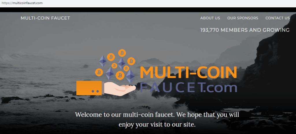 Кран Multicoin Faucet (free)