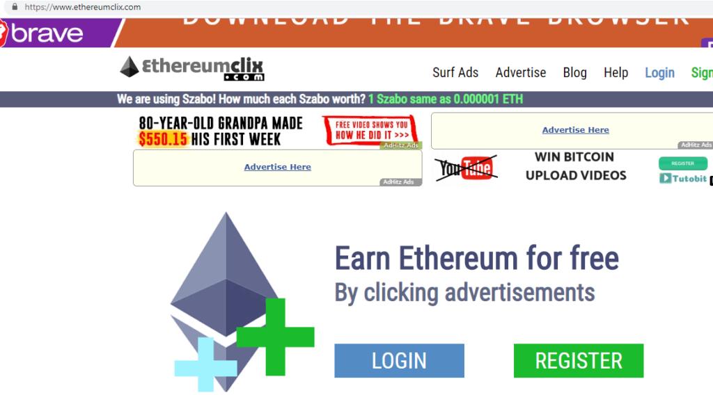 Кран Ethereum-Faucet