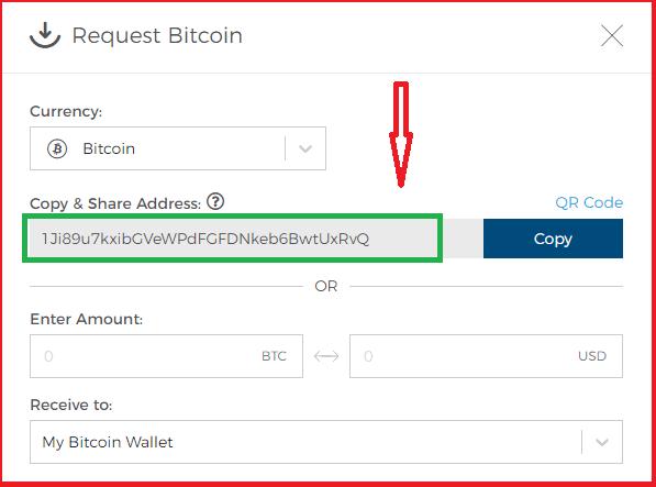 Адрес пользовательского биткоин-кошелька