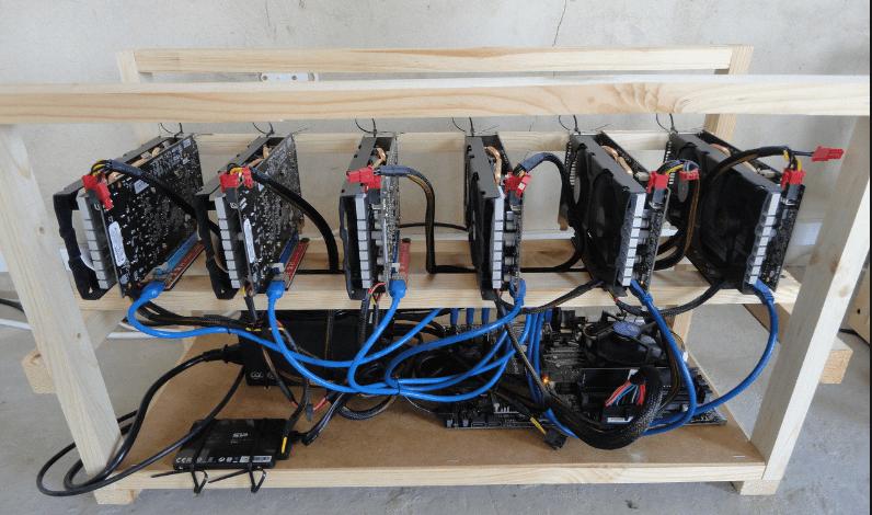 Майнинг-ферма на 6 GPU