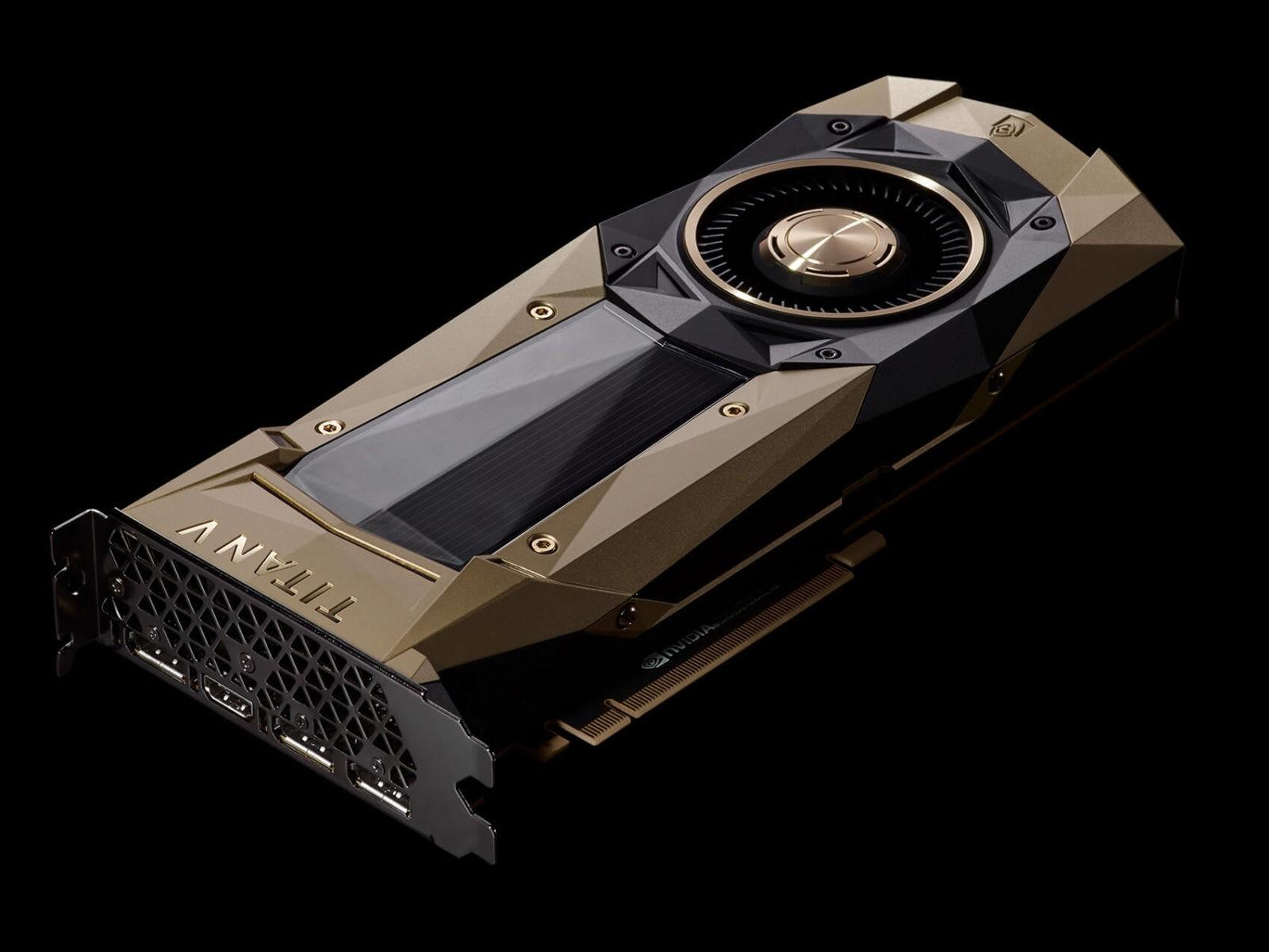Видеокарта серии NVIDIA GTX TITAN V для майнинга