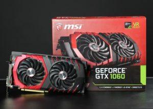 Видеокарта GeForce GTX 1060 от NVIDIA для майнинга
