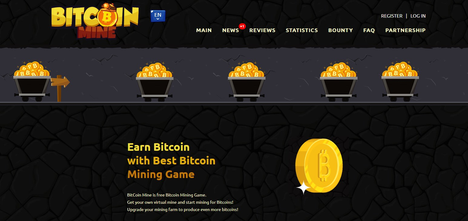 Bitcoin Mine Game