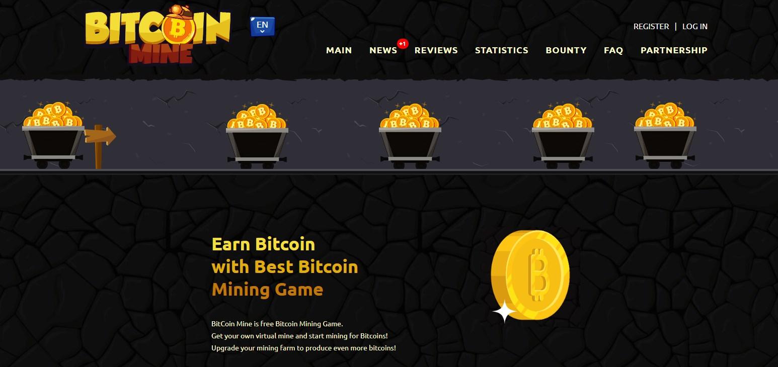 Bitcoin Mine Game