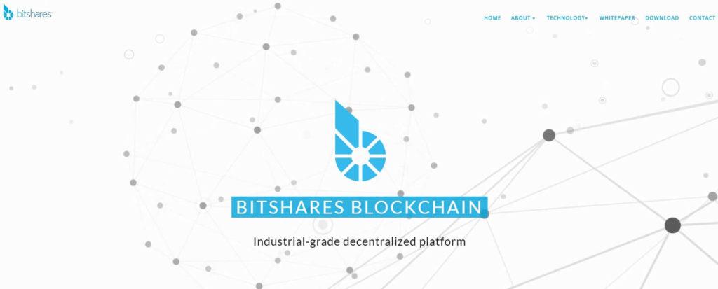 Официальный сайт BitShares