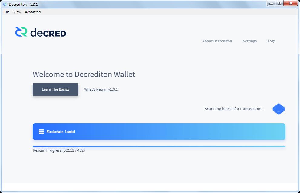 Как создать официальный кошелек для монет DCR: шаг 11
