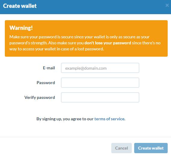 Как создать кошелек для криптовалюты Dogecoin: шаг 3