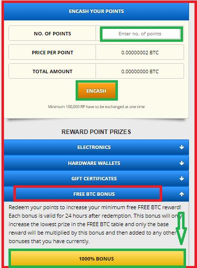 Категория FREE BTC BONUS