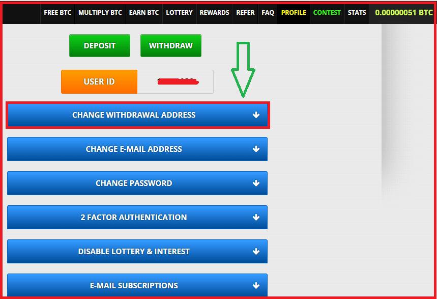 Регистрация на сервисе freebitco.in: шаг 2