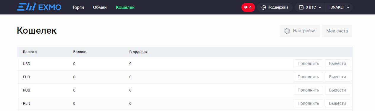 Как обменять Yandex.Money через криптовалютную биржу: шаг 2