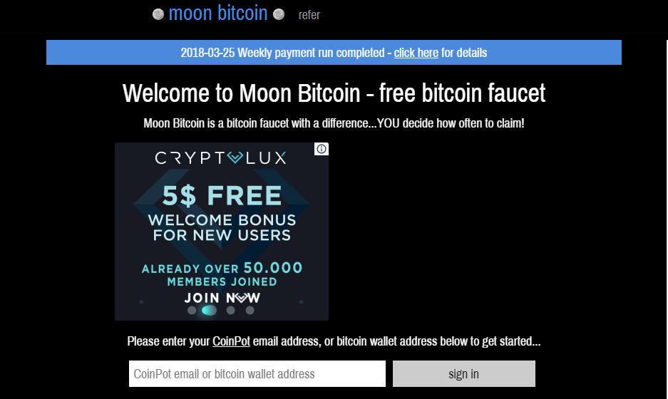 Сервис Moon Bitcoin