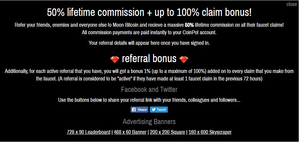Принцип работы сервиса Moon Bitcoin