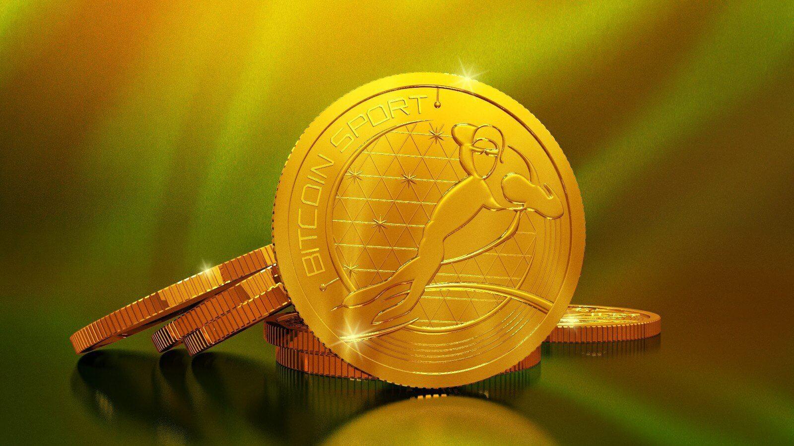 Монета Bitcoin Sport