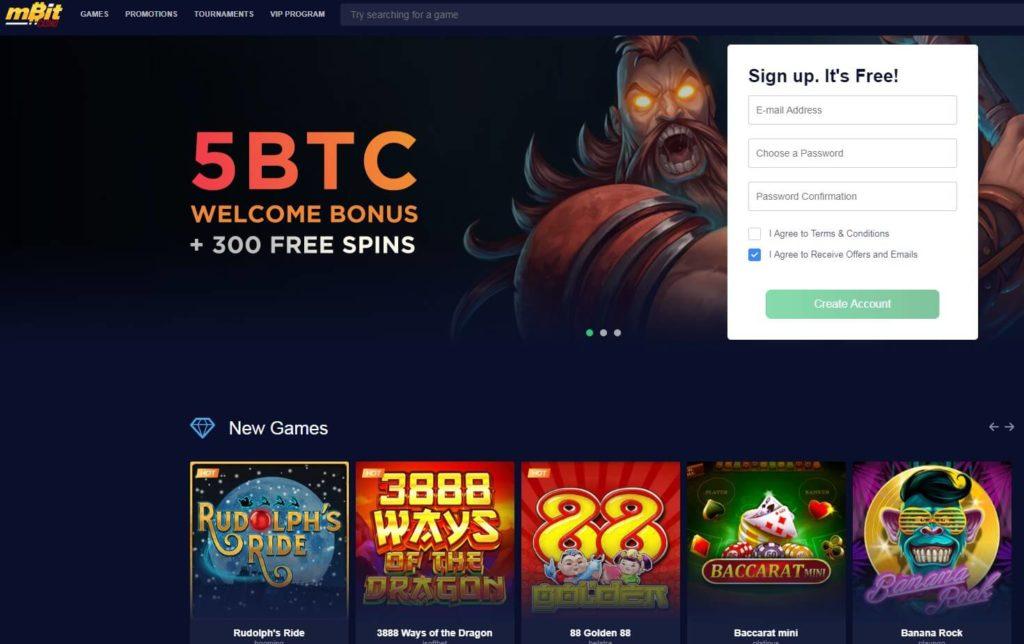 Проект mBit Casino