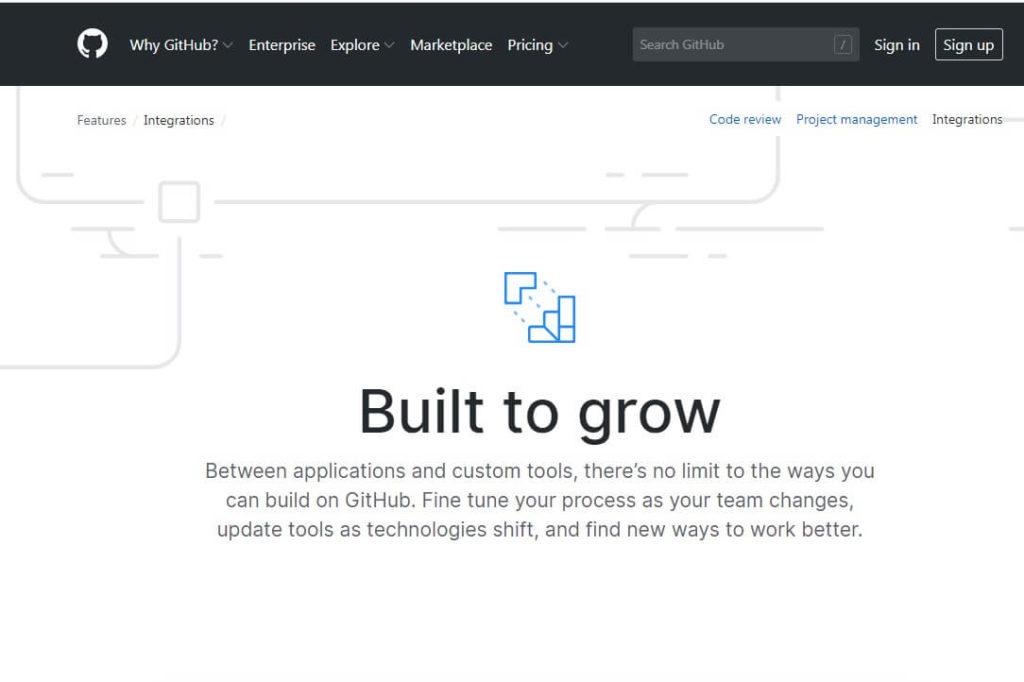 Сервис github.com