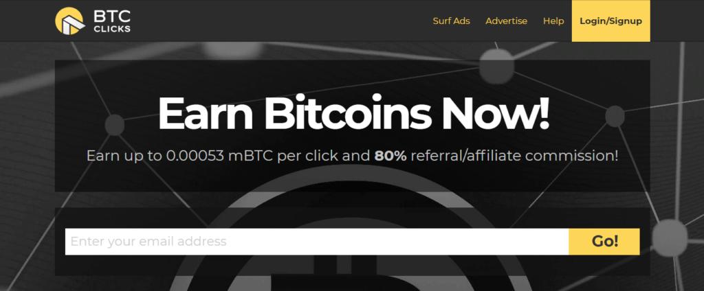 Проект Btcclicks.com