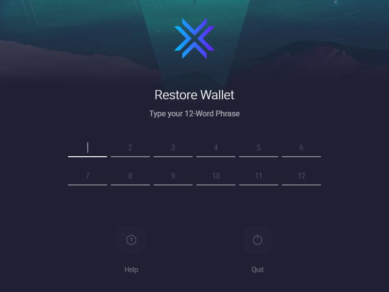 Как восстановить потерянные деньги на Exodus: шаг 3