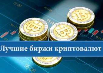 Рейтинг лучших криптовалютных бирж