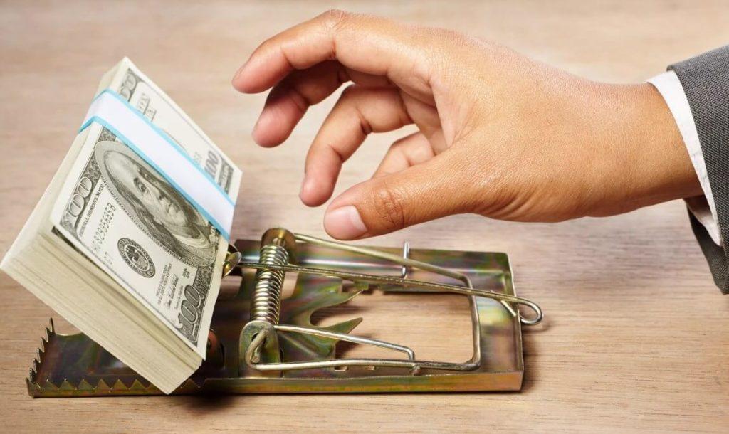 Опасность халявных денег