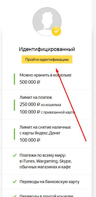 Идентификация с помощью Сбербанка онлайн: шаг 1