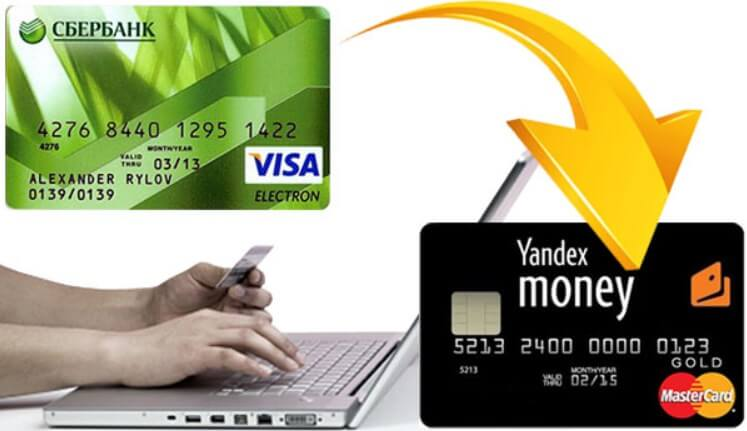 Как быстро и без комиссии перевести деньги с карты на Яндекс.Деньги