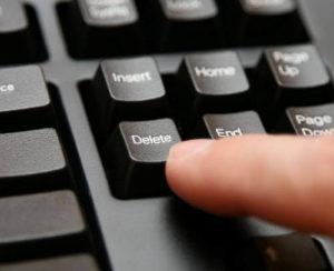 Удаление вебмани-кошелька