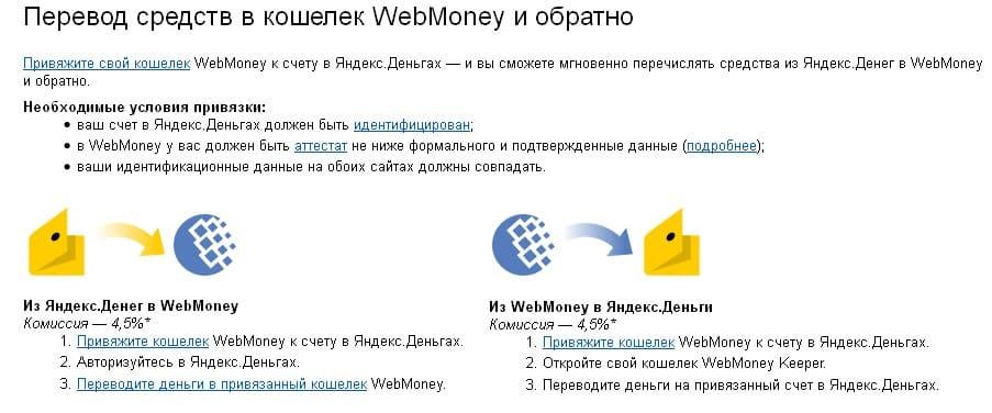 Переводя с помощью WebMoney