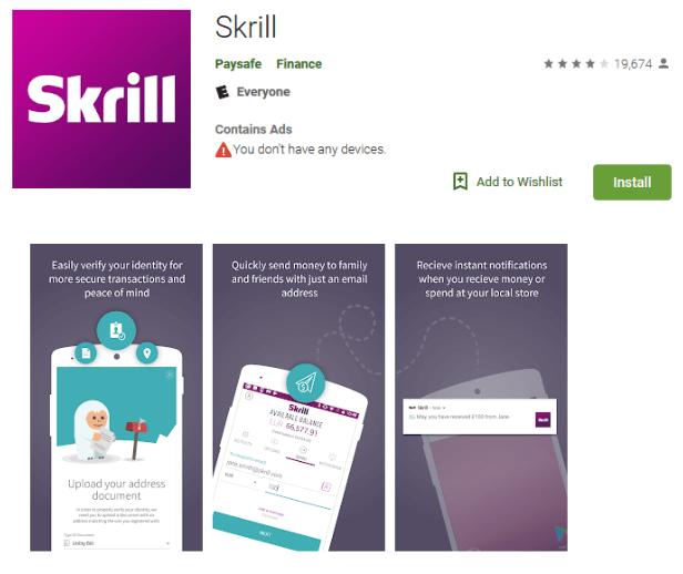 Верификация аккаунта в Skrill: шаг 4
